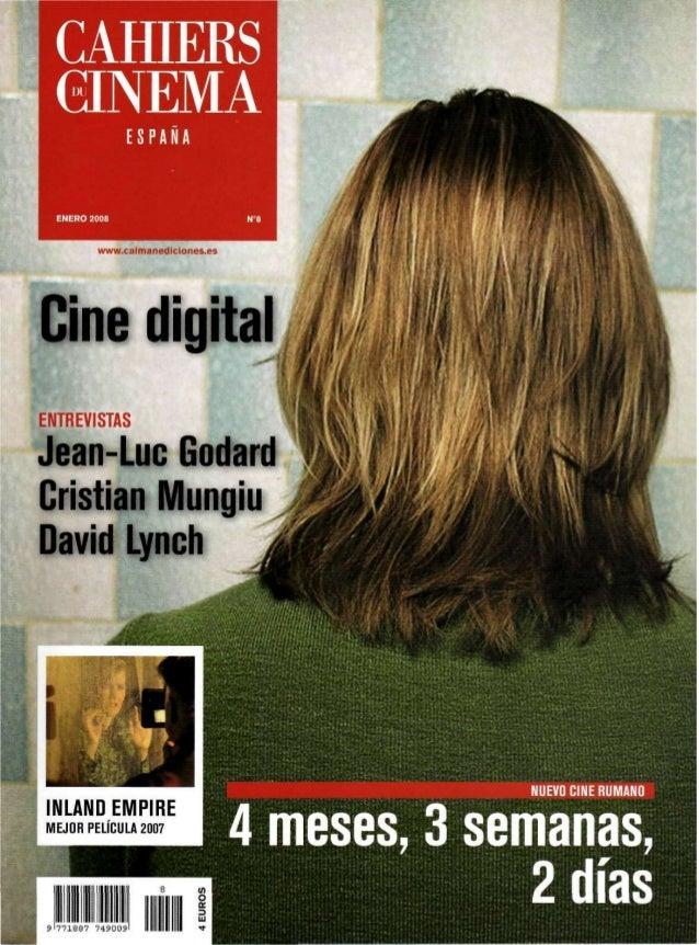 EDITORIAL El futuro se hace presente Carlos F. Heredero Un nuevo horizonte se abre para el cine desde el comienzo mismo de...