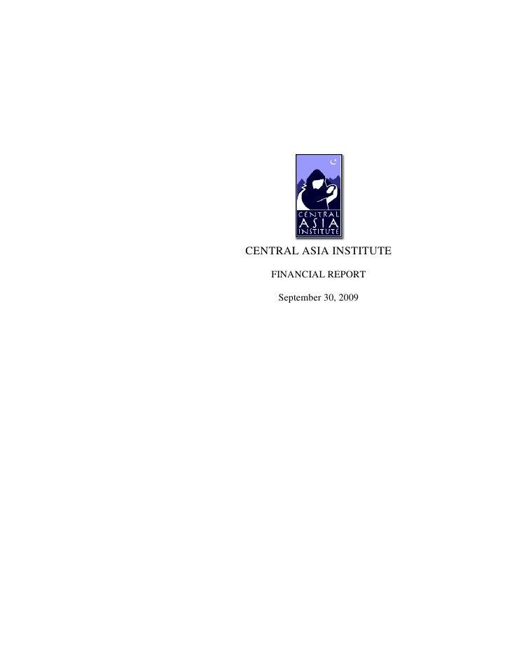 Cai audited fye 9 30-2009 highlighted