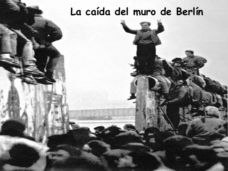caida del muro de berlin: