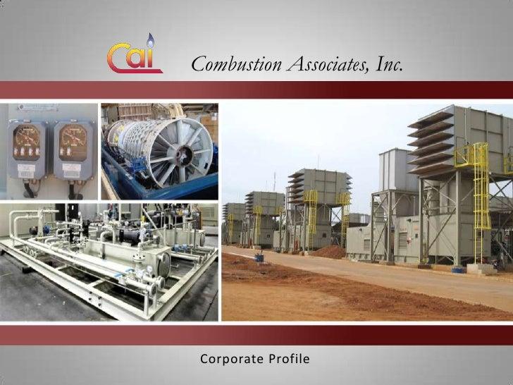 Combustion Associates, Inc. Corporate Profile