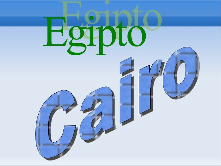 1. GEOGRAPHICAL ASPECTSCairo is the capital city of Egypt, situated in Africa. Cairo is located in northern Egypt     Its ...