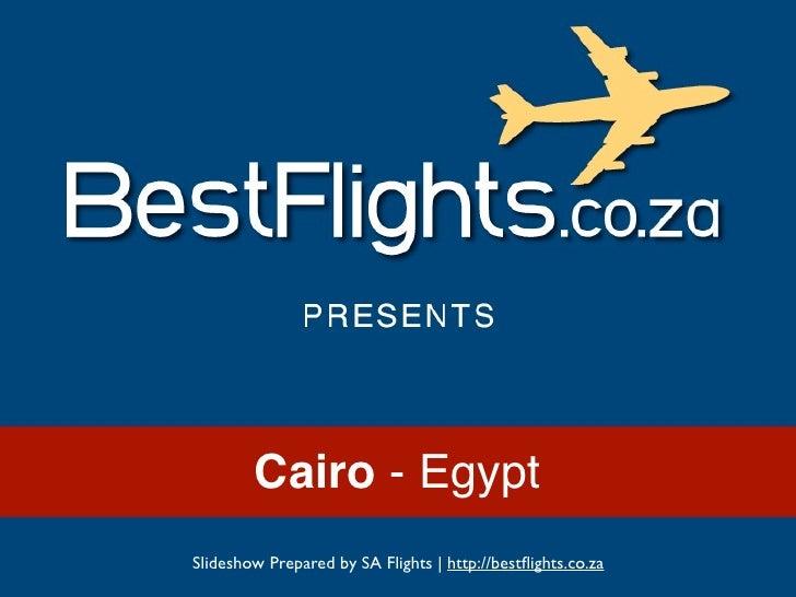 Cairo, Egypt - Tourist Attractions