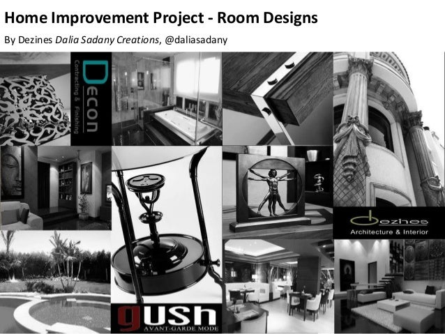 Home Improvement Project - Room Designs