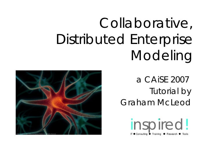 Distributed Collaborative Enterprise Modeling Tutorial @ CAiSE'07