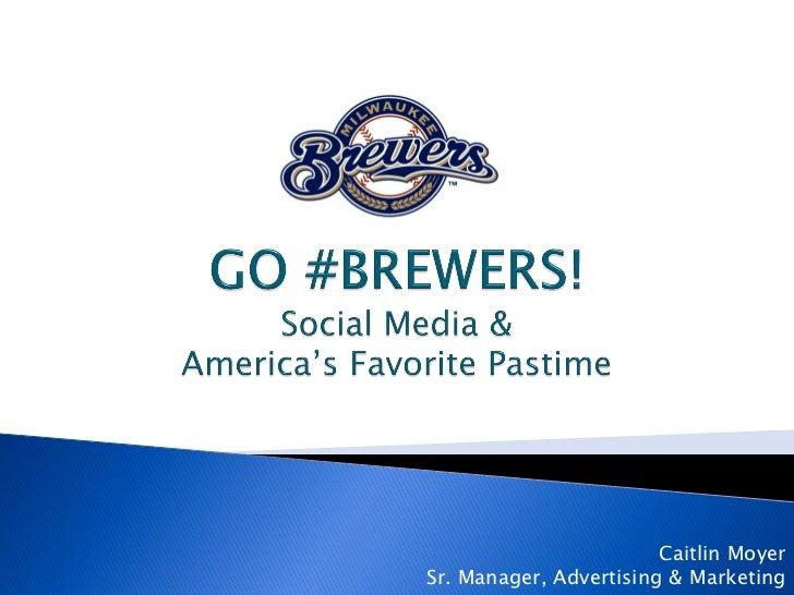 Milwaukee Brewers Social Media
