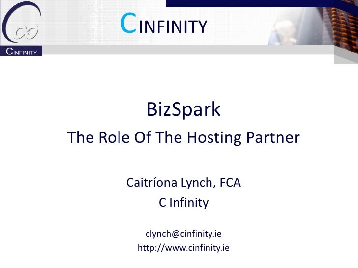 BizSpark Hosting Partner