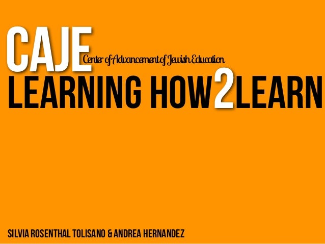 CAJE  Learning 2 Learn