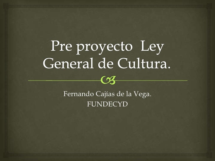 Fernando Cajías de la Vega.      FUNDECYD