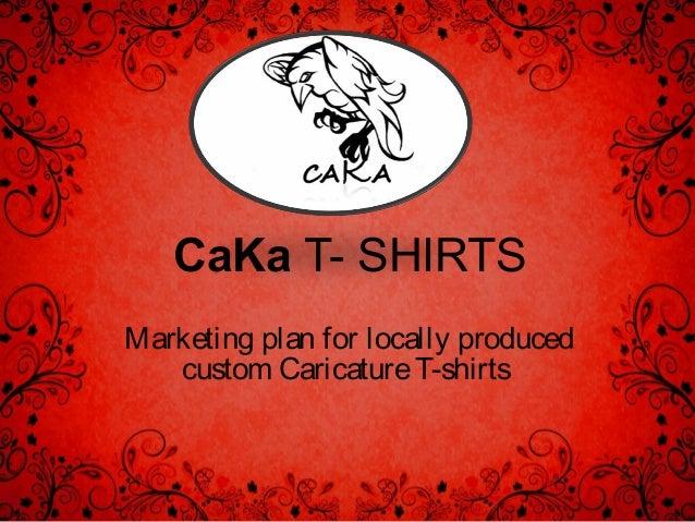 T shirt line business plan