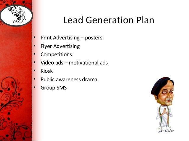 Lead generation business plan
