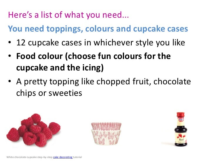 Things You Need To Bake A Cake