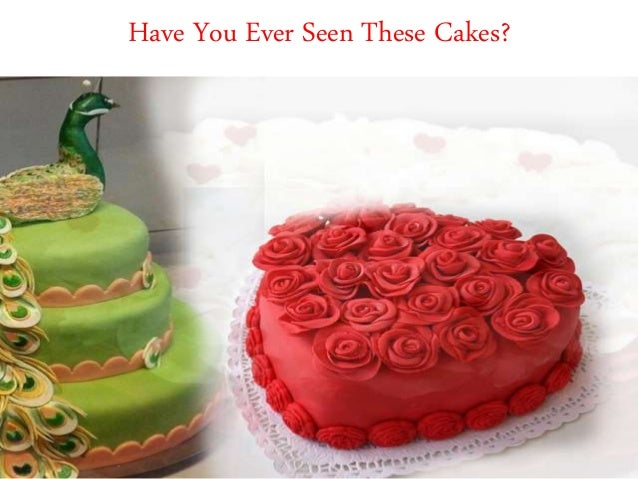 Have You Ever Seen These Cakes?