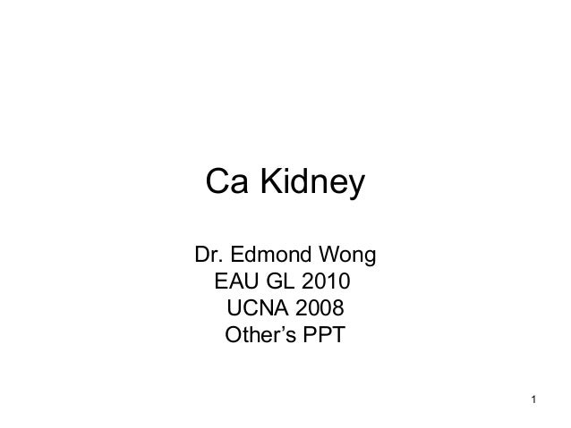 Ca kidney [edmond]