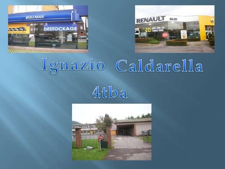 Ignazio<br />Caldarella<br />4tba<br />