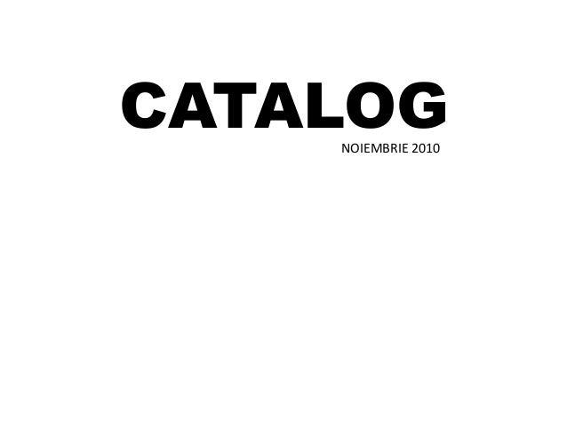 CATALOGNOIEMBRIE 2010