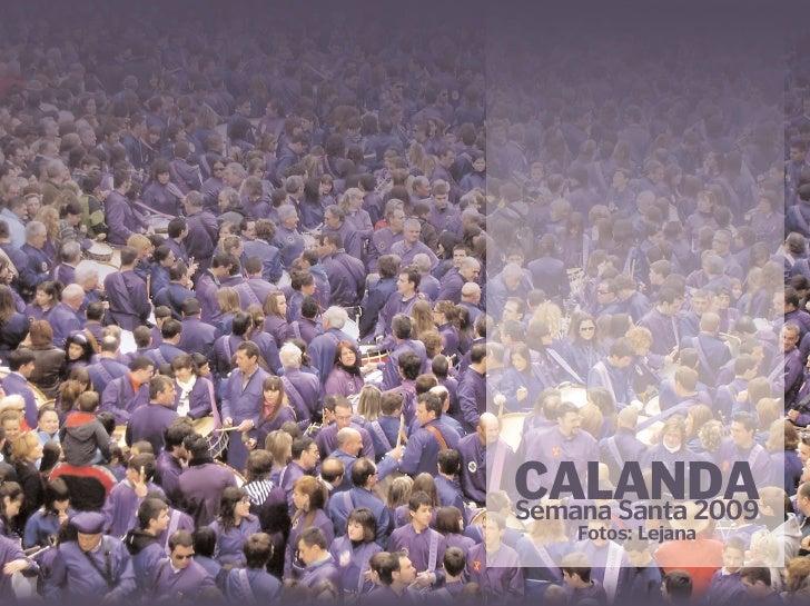 Calanda 2009