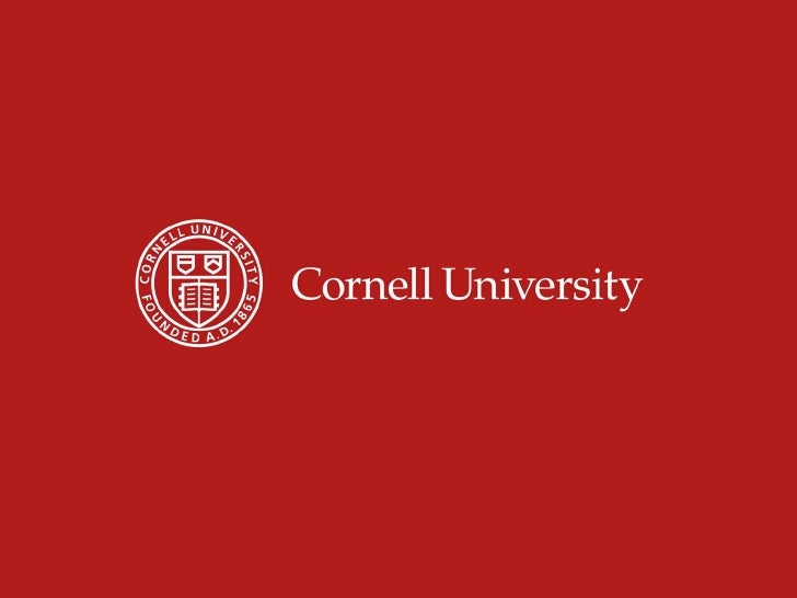 Cornell Alumni Leadership Conference - Diversity Leaders Session: Coalition Building