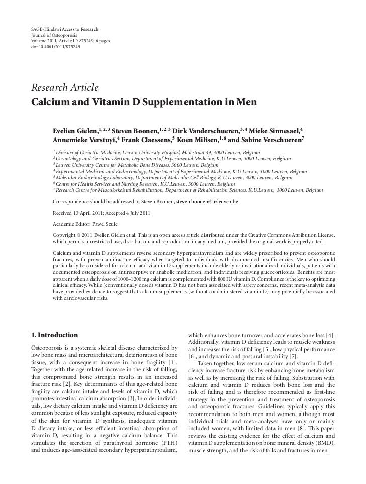 SAGE-Hindawi Access to ResearchJournal of OsteoporosisVolume 2011, Article ID 875249, 6 pagesdoi:10.4061/2011/875249Resear...