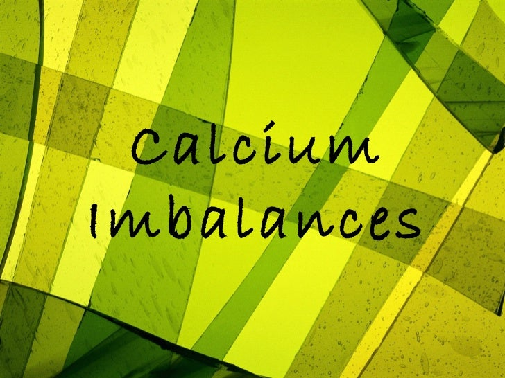 CalciumImbalances
