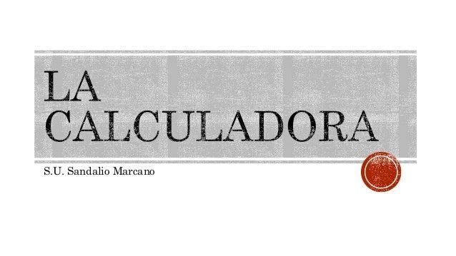 S.U. Sandalio Marcano