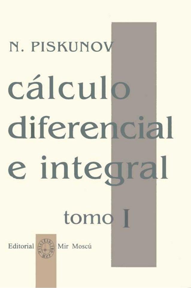 Calculo diferencial e integral   tomo 1 (piskunov n)