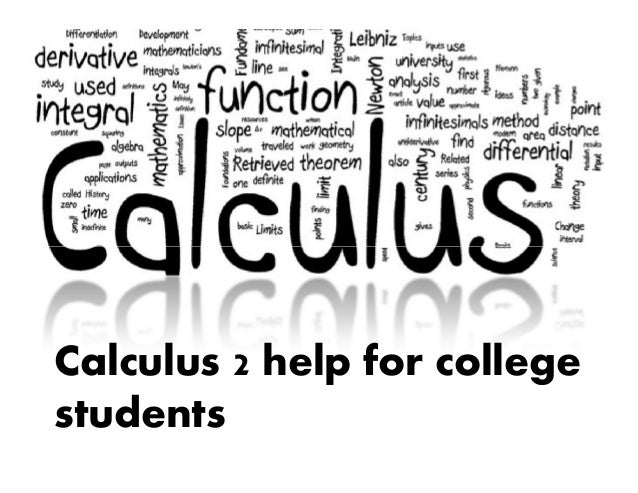 Calculus 2 homework help