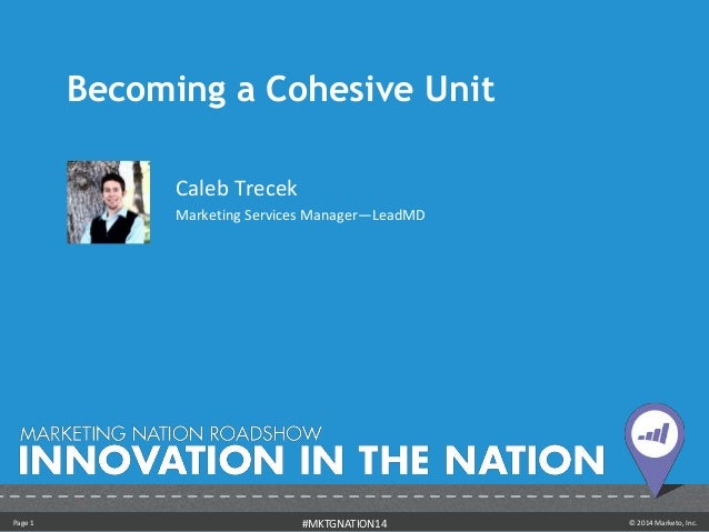 Becoming a Cohesive Unit - Caleb Trecek