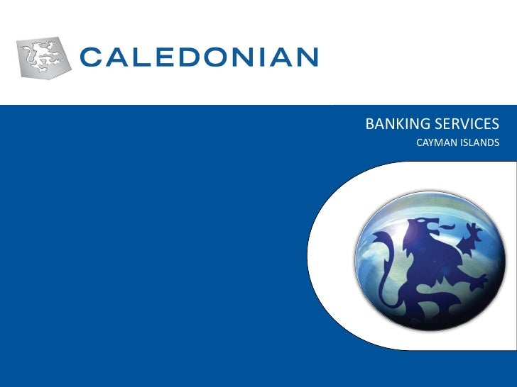 Caledonian banking services