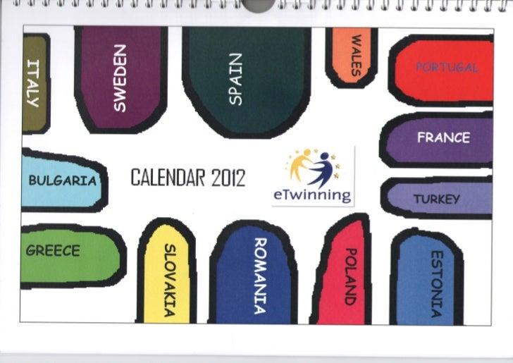 eTwinning Calendar 2012