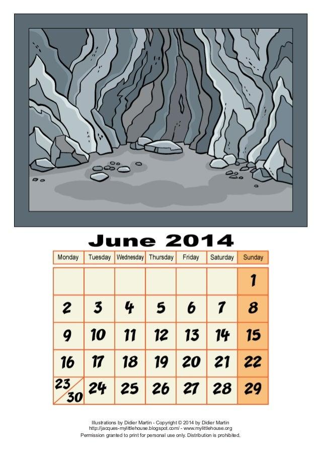 Calendar june-2014
