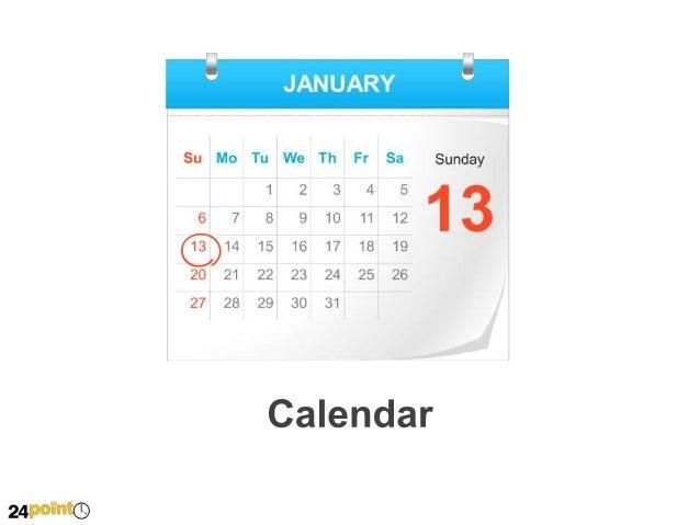 Calendar - Editable PowerPoint Illustration