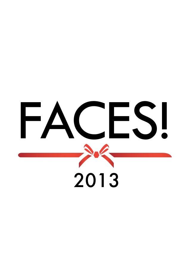 Calendar Faces 2013