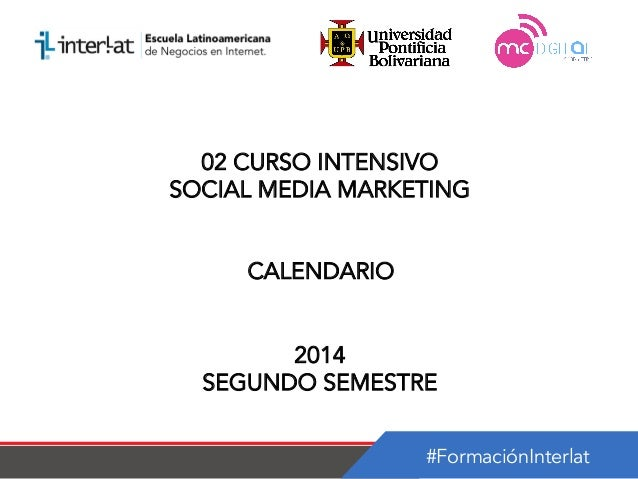 Calendario   02 curso intensivo social media marketing argentina-semestre 2_2014