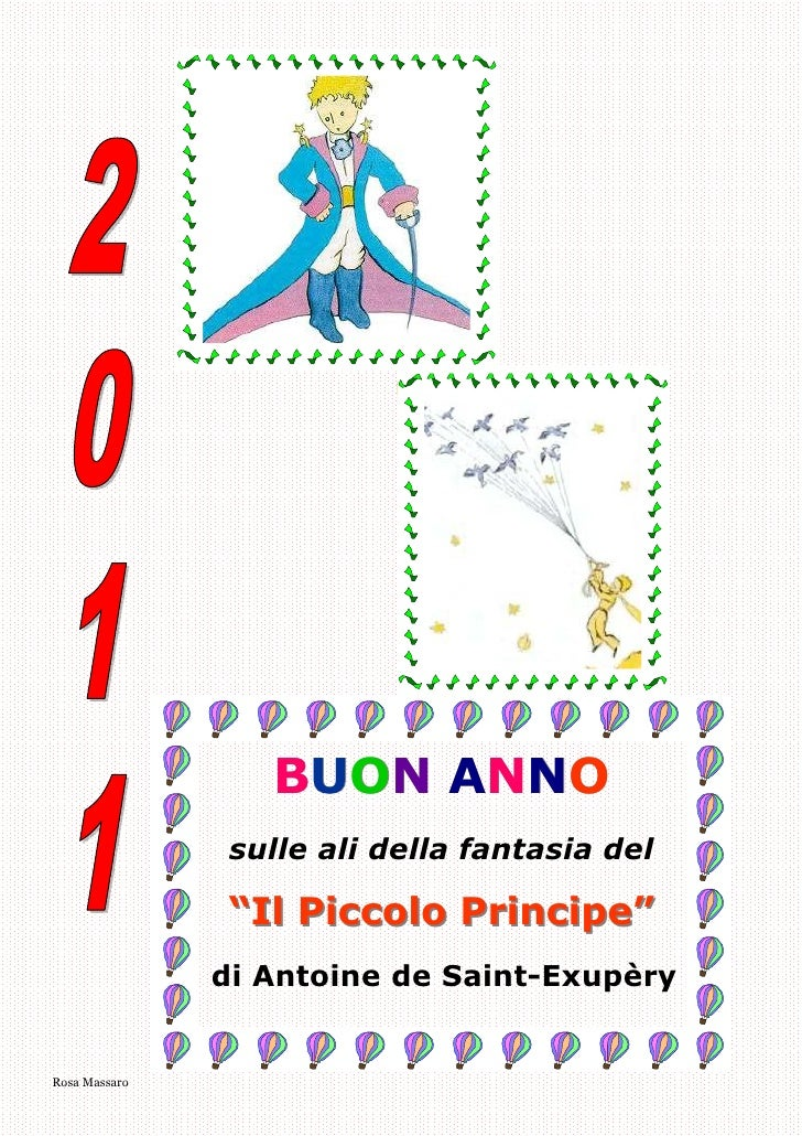 Calendario2011 piccoloprincipe