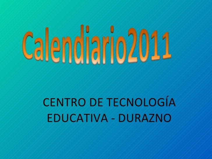 CENTRO DE TECNOLOGÍA EDUCATIVA - DURAZNO
