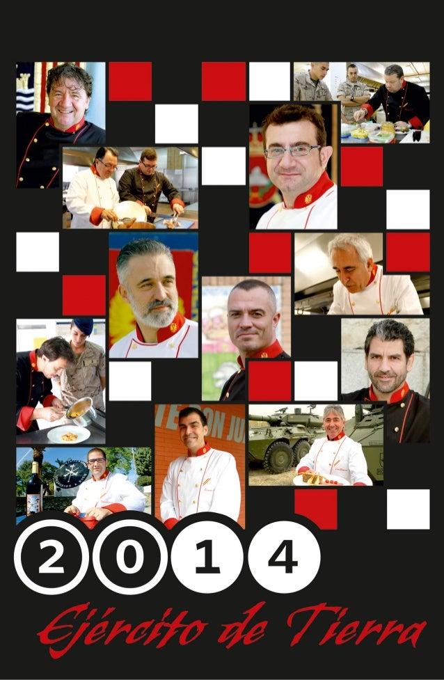 """Calendario 2014 """"La Cocina y el Ejército"""""""