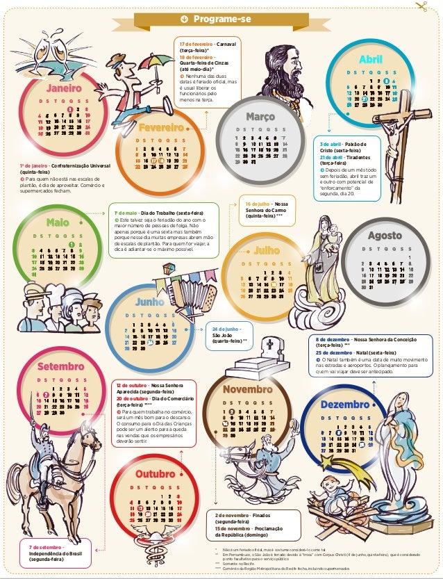 Feriados Municipais 2016 Em Excel | Calendar Template 2016