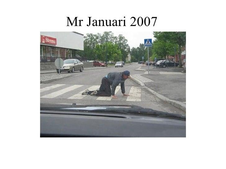 Mr Januari 2007