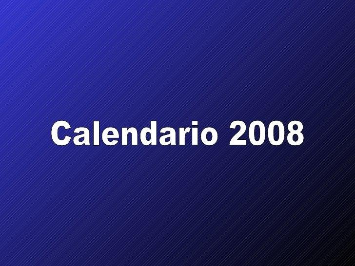 Calendario bacardi2008