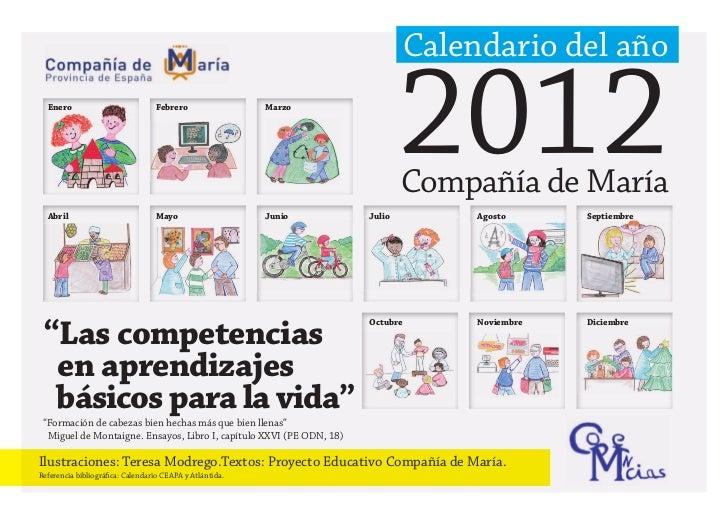 Calendario ccbb