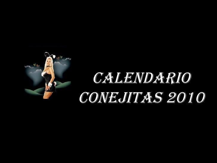 CALENDARIO conejitas 2010