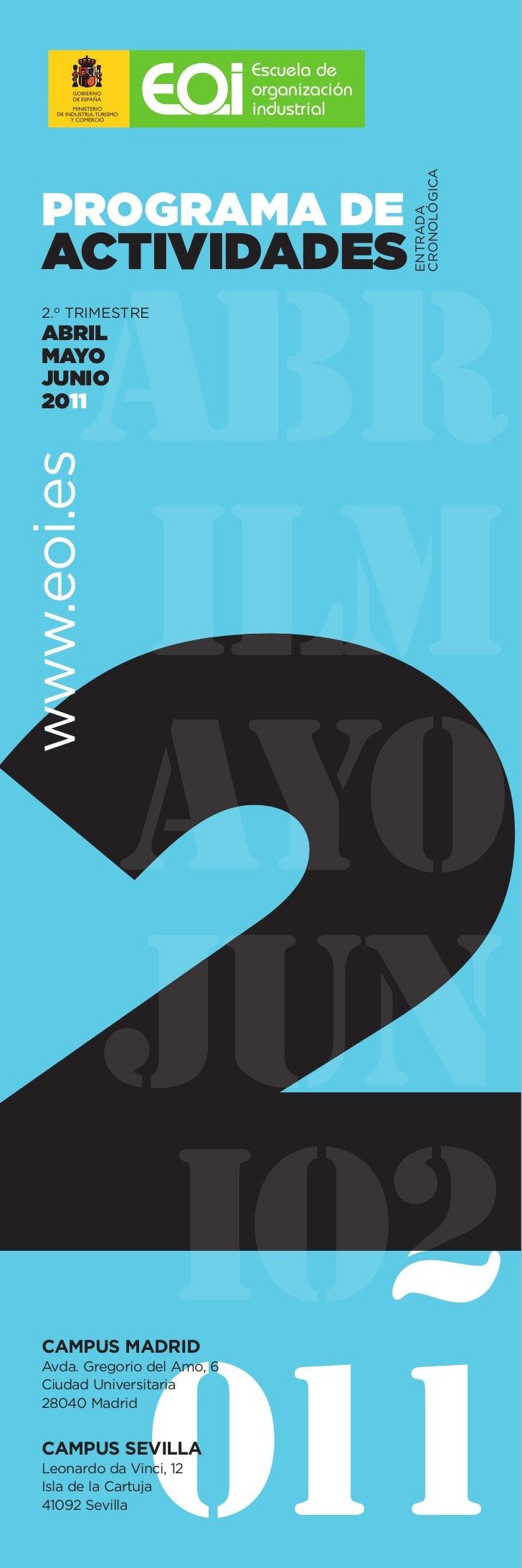 Calendario eoi 2o_trimestre 2011 (horizontal)