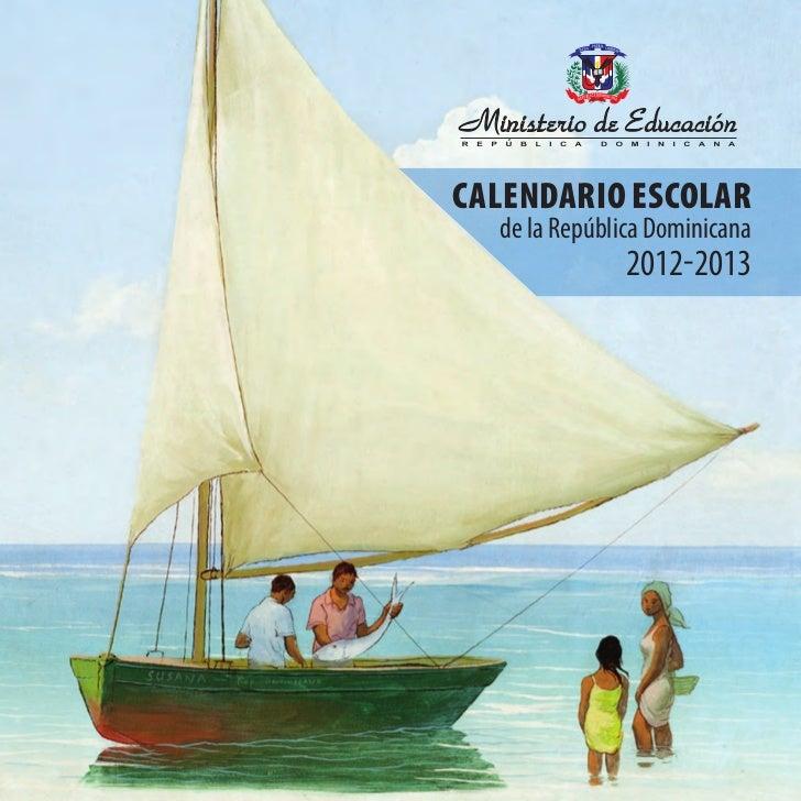 Calendario escolar 2012 2013 portal