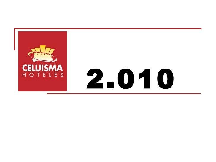 Calendario 2010 Celuisma Hoteles