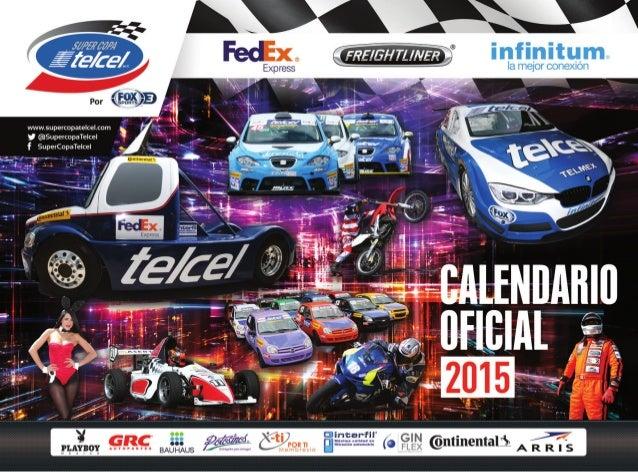 Calendario Oficial 2015 de la Súper Copa Telcel Presentada por Fox Sports 3