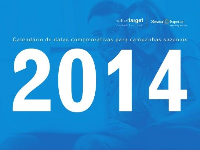 Calendario promocional 2014