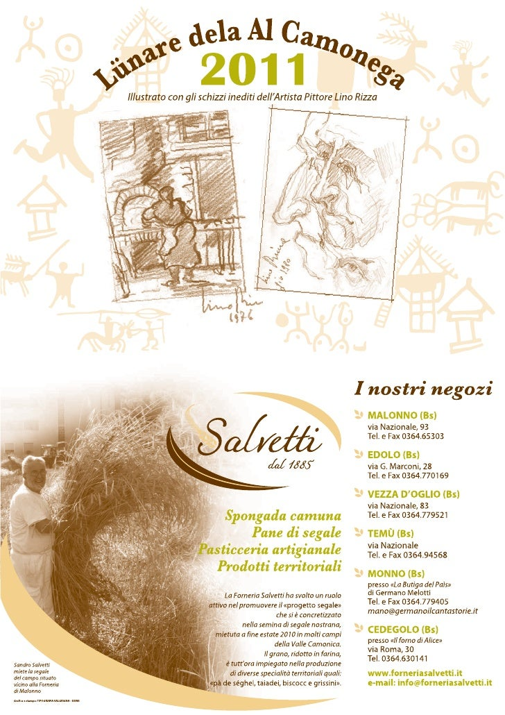 Calendario salvetti