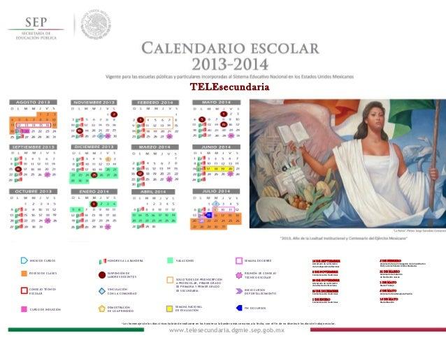 Calendario ts 2013 - 2014