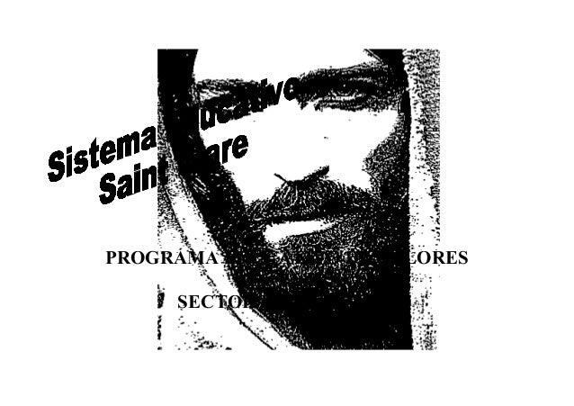 PROGRAMA EDUCATIVO DE VALORES AÑO 2009. SECTOR DE PRIMARIA.