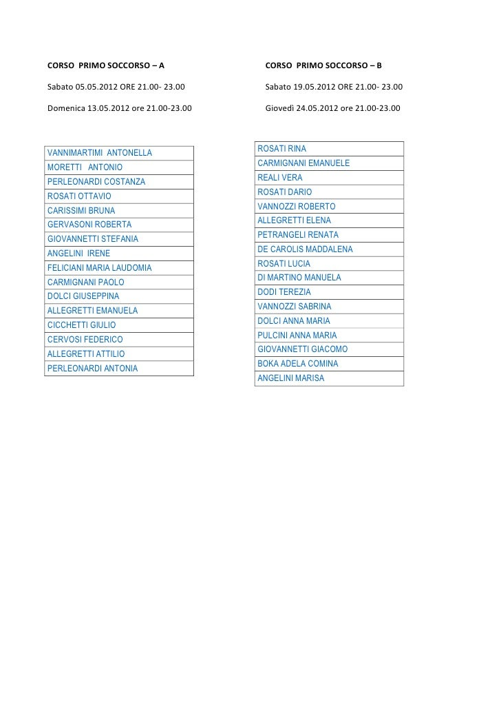 SICUREZZA  IN  CATTEDRA-Calendario corsi